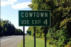 Cowtown Just Outside Woodstown Nj