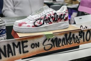 Name On Sneakers