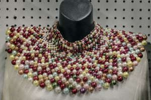 Pearl Collar Multi Color