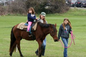 Pony Rides At Cowtown