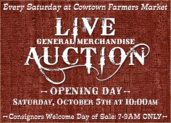 Cowtown Farmers Market Live Auction