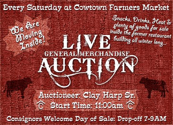 Cowtown Farmers Market Live Auction